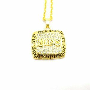 USA Los Angeles Lakers 2002 Pendant Necklace